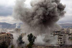 91 قتيل في دمشق  والغوطة الشرقية وحدها