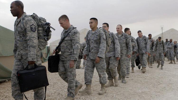 القوات الامريكية تغادر الأراضي السورية