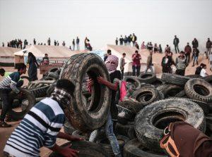 جمعة الكوشوك حصار غزة