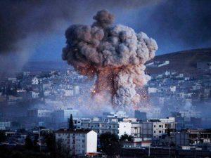 القصف والحصار على الغوطة الشرقية 2018