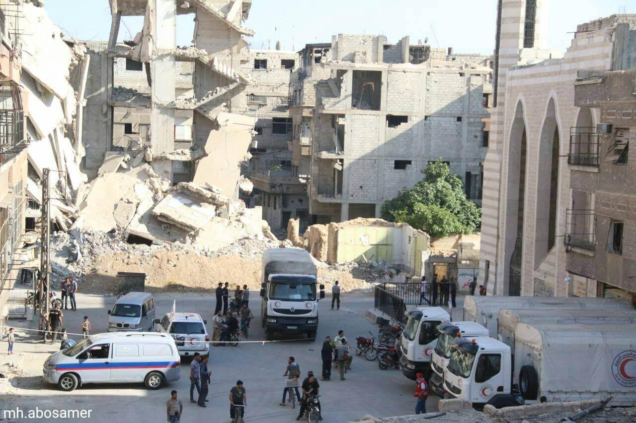 الحكومة السورية تباشر بإعادة كافة الخدمات الى الغوطة الشرقية