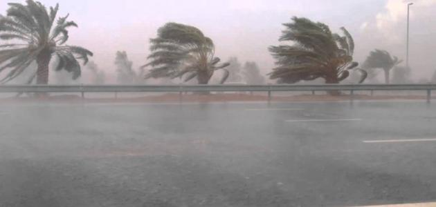 الارصاد الجوية في السعودية من اقتراب عاصفة مدارية