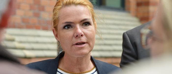 وزيرة دنماركية