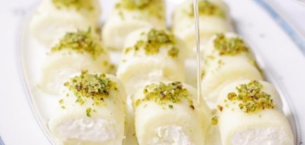 طريقة عمل حلاوة الجبن الحمصية