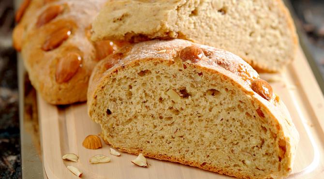 طريقة تحضير خبز اللوز خبز الكيتو دايت