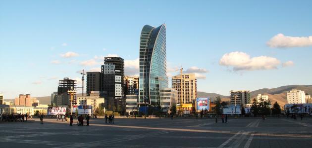 السياحية فى منغوليا