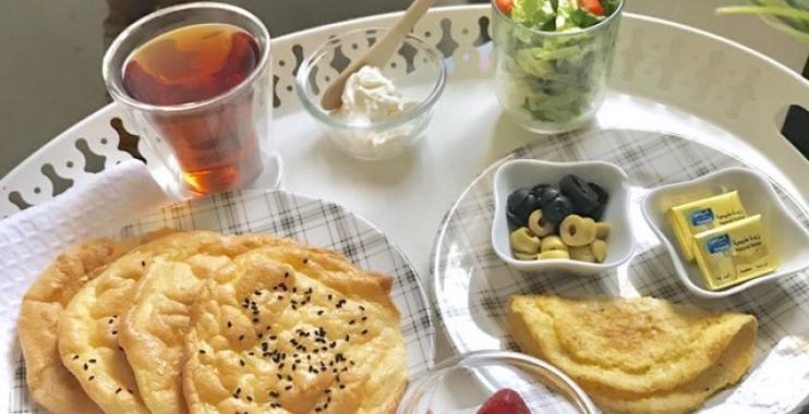 وجبة افطار ريجيم كيتوني